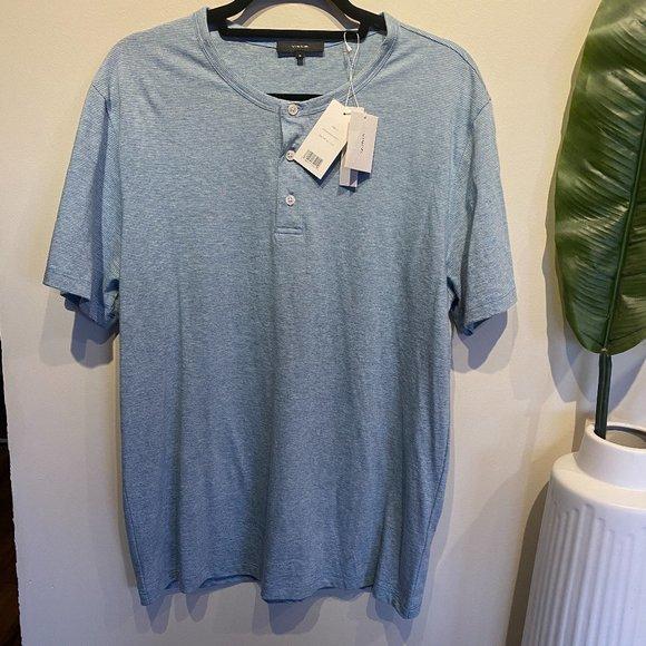 VINCE Henley T-Shirt M